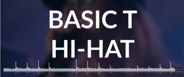 آموزش صدای های هت – Hi Hat sound